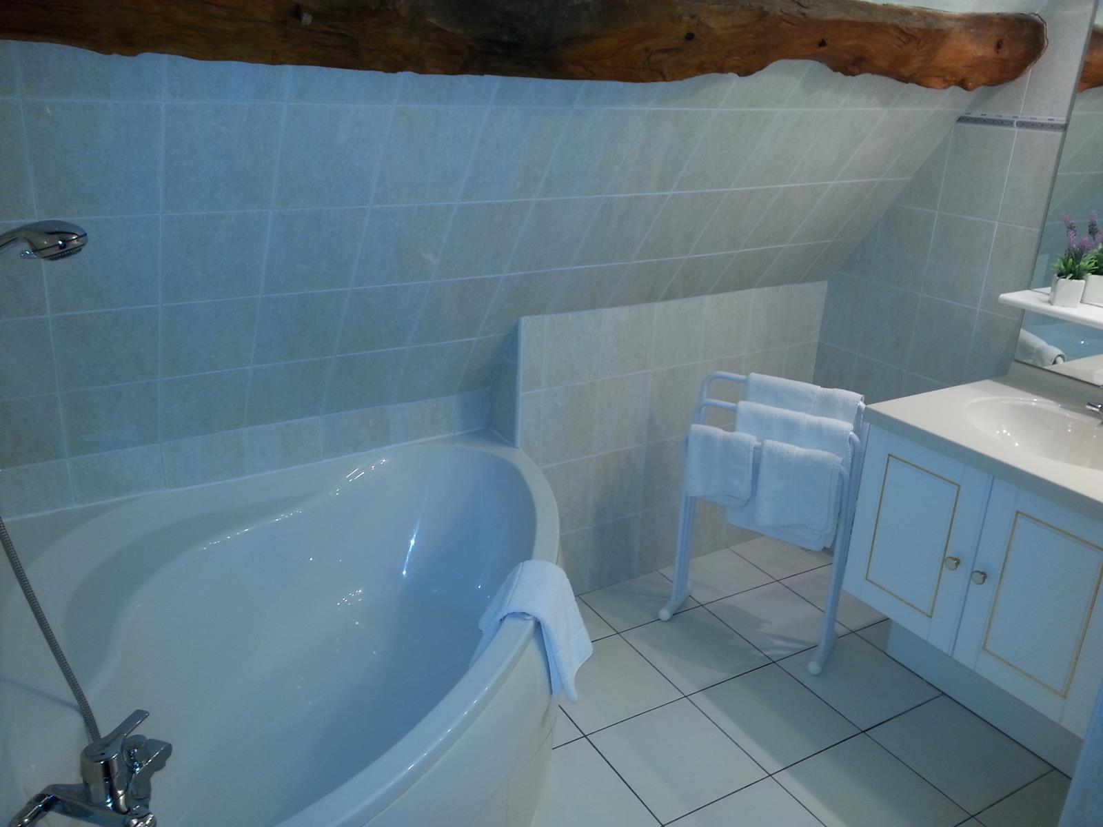 Salle de bain chambre d'hôtel