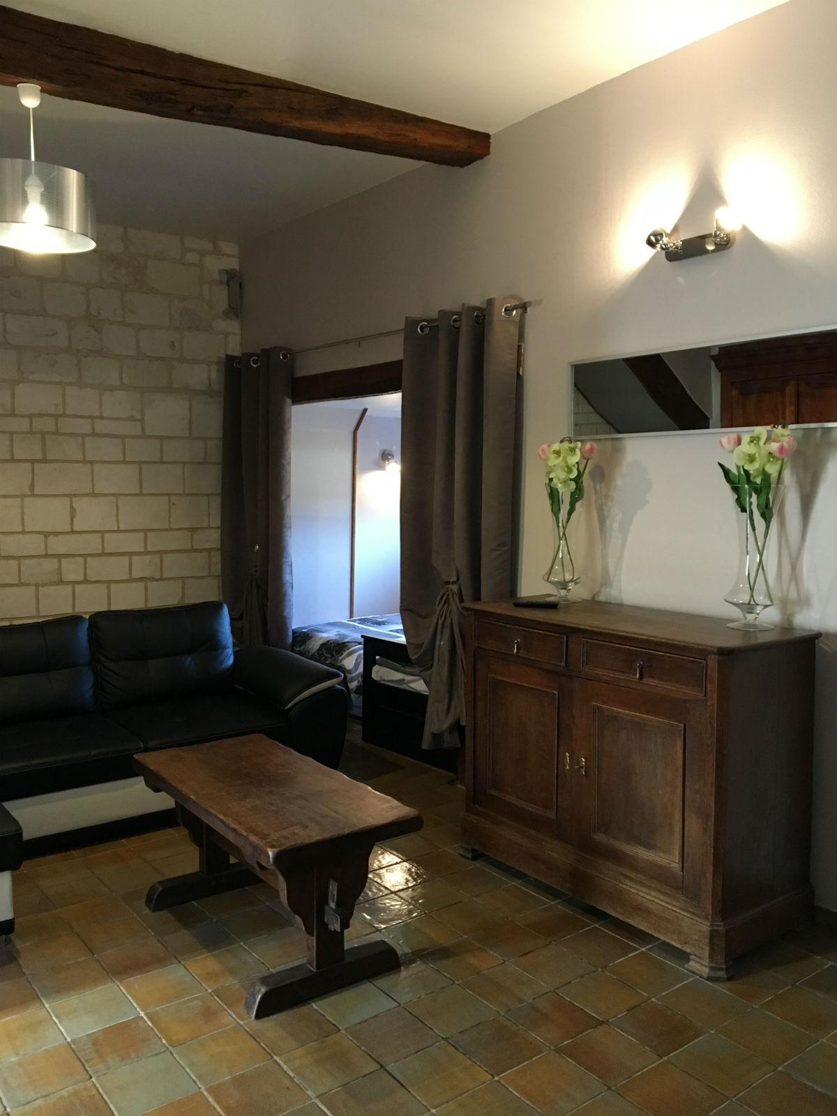 Gîte 8 personnes Montreuil-sur-Mer espace salon
